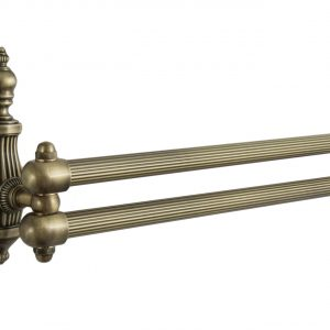 Полотенцедержатель рога ONDINE бронза 2е 41см BR ON013