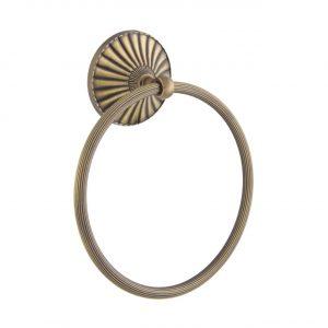 Полотенцедержатель кольцо OPAL бронза BR OP015
