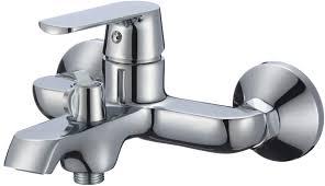 Смеситель КОНКОРД 35mm для ванны ХРОМ с аксессуарами MXKL1201
