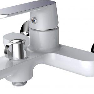 Смеситель КОНКОРД 35mm для ванны с аксессуарами MXKL1201W