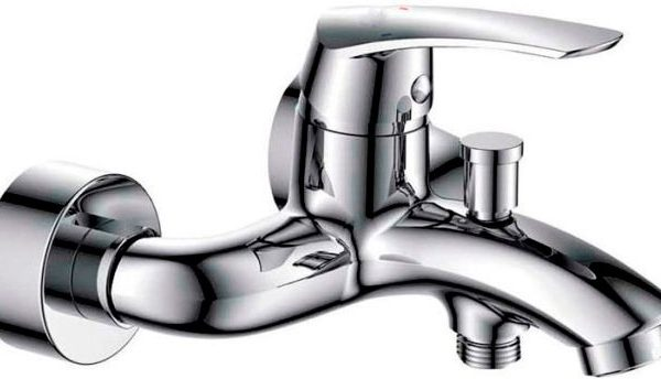 Смеситель ГРАЦИЯ для ванна хром с аксессуарами MXН1003