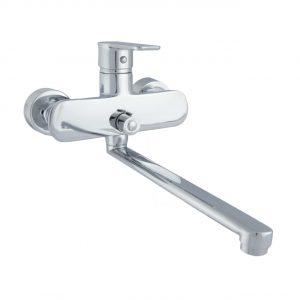 Смеситель для ванны ЛОТУС D35 хром L320 NNH1035