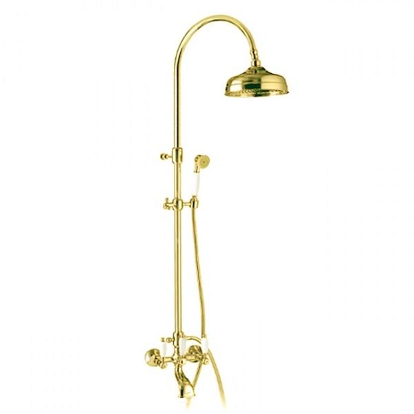 Смеситель для ванны DECO ceramica ванна-колонна золото OR12161181