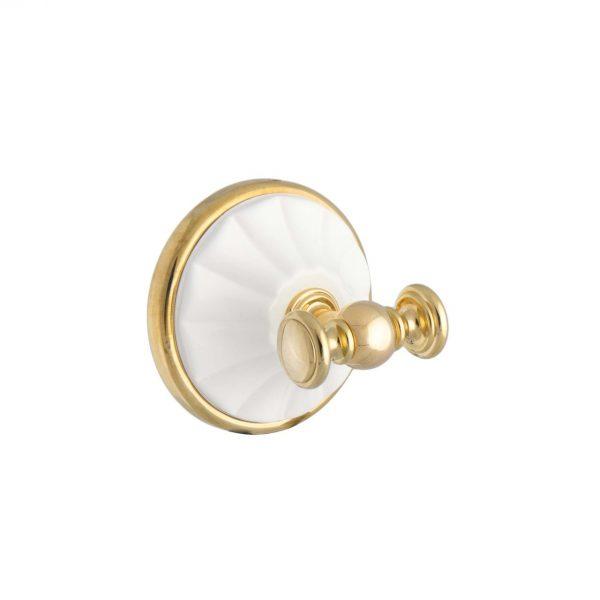 Крючок MARGHERITA золото-белый ORBI MG016