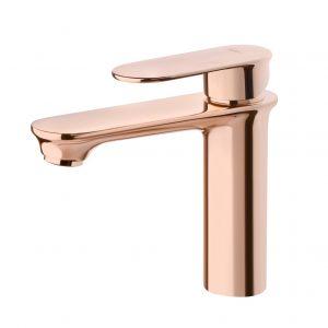 Смеситель KIRY для умывальника розовое золото б-пр ORS88003