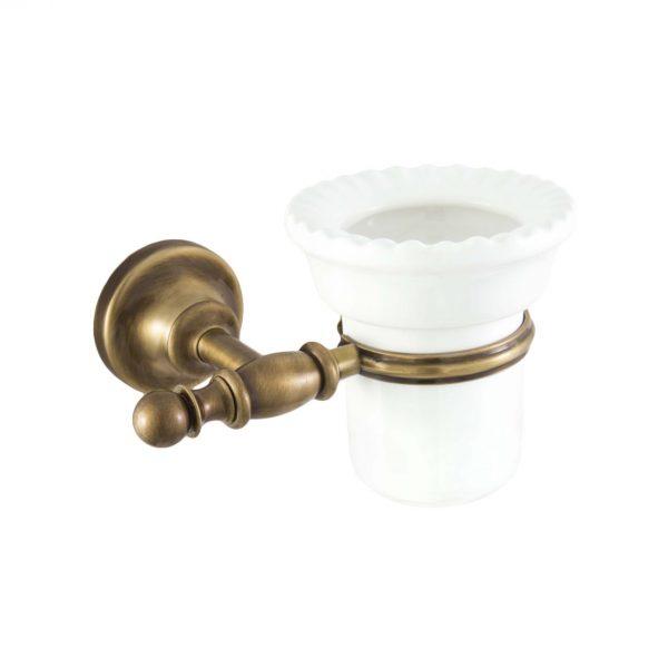 Держатель PERLA PE109-BR керамика-бронза