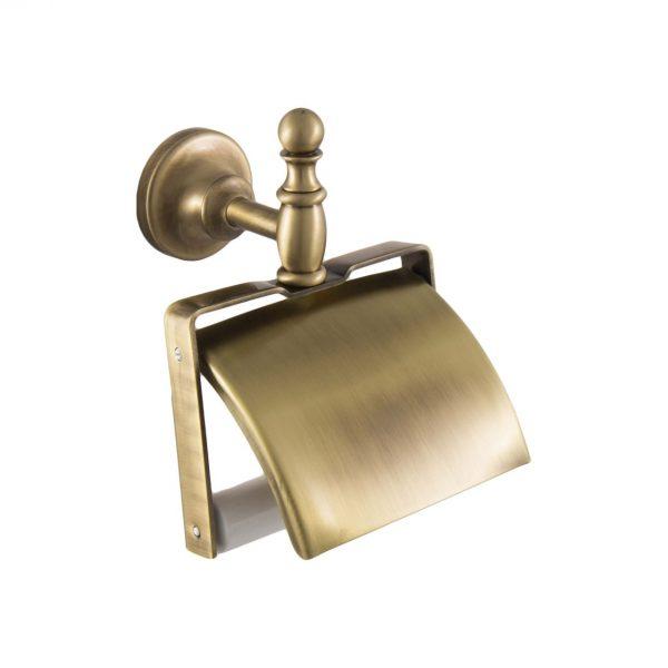 Держатель бумаги PERLA закрытый PE219-BR бронза