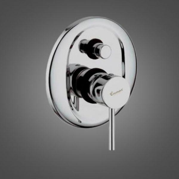 Смеситель для ванны PIPER встроенный матовый-хром SC45019