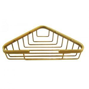 Полка решетка треугольная ALL PE золото OROT HO534